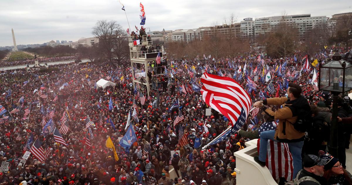 Siapa Pemberontak Capitol AS?