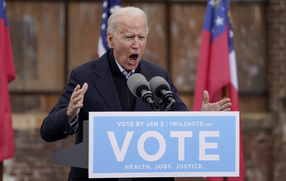 Pemilihan Senator di Georgia Menentukan Kepresidenan Biden?